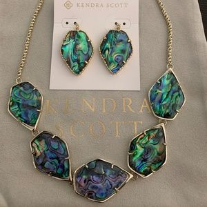 Kendra Scott Connely/Corley set in Gold & Abalone